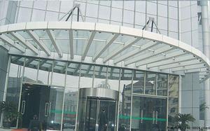 黔西医院雨棚